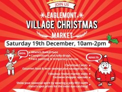 Eaglemont Village 2015 Christmas Market, Saturday 19th December, 10-2pm