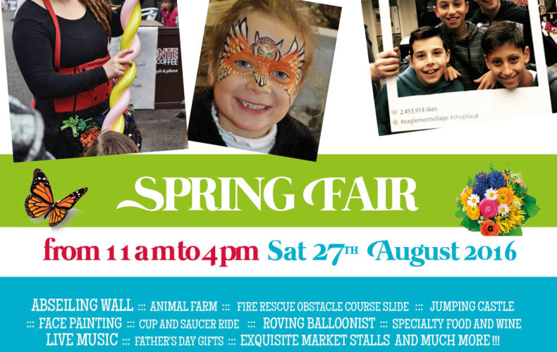 Eaglemont Village 2016 Spring Fair