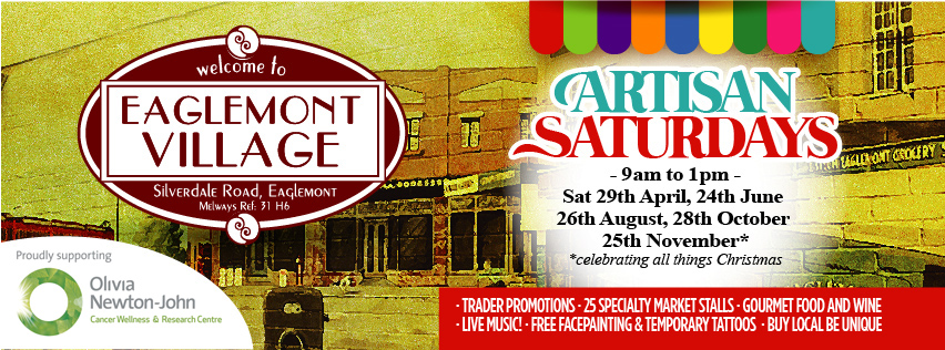 Eaglemont Village Artisan Saturdays…