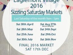 Eaglemont Village 2016 Sizzling Saturday Markets…